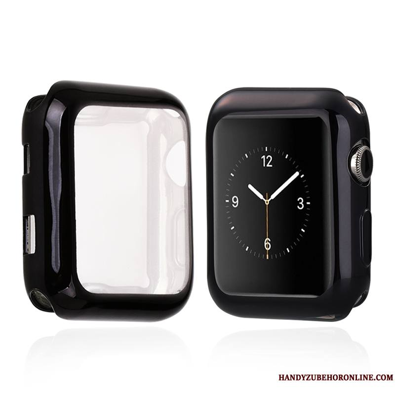 Apple Watch Series 2 Coque Protection Incassable Placage Fluide Doux Étui Tout Compris