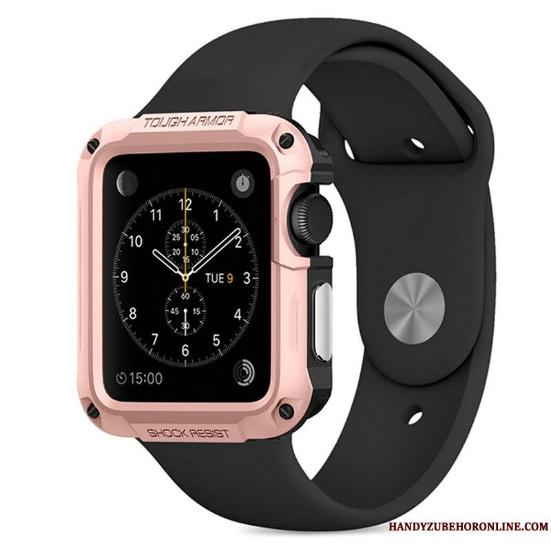 Apple Watch Series 2 Coque Protection Outdoor Sport Étui Or Rose