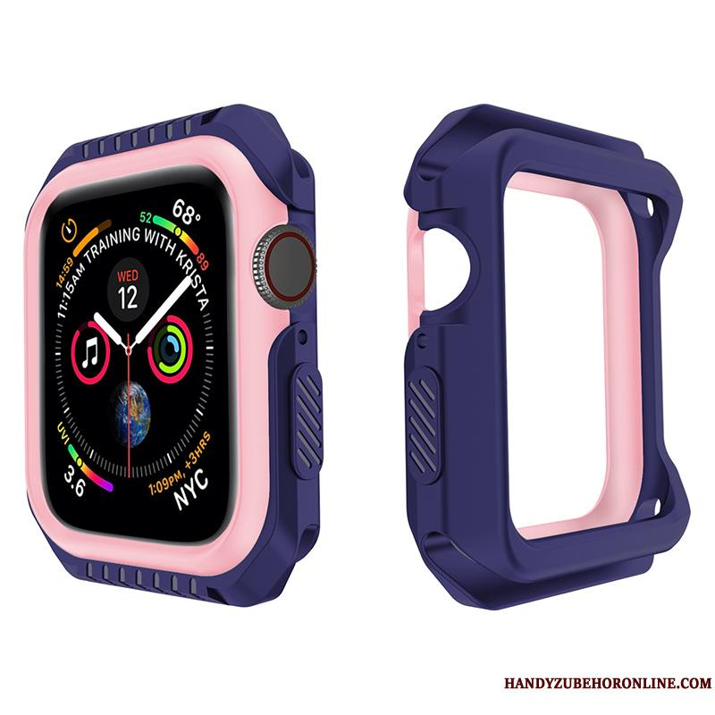 Apple Watch Series 2 Incassable Protection Violet Fluide Doux Étui Silicone Coque