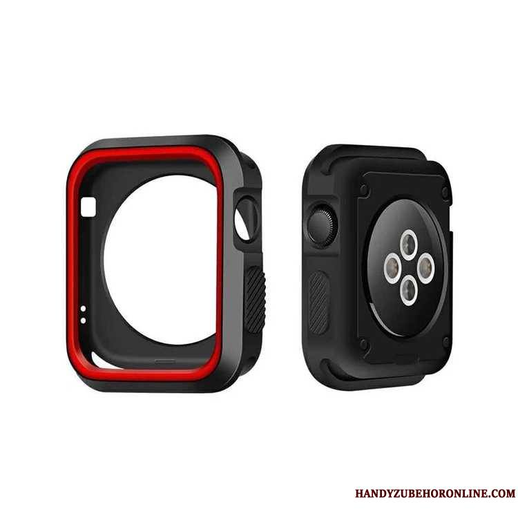 Apple Watch Series 2 Noir Fluide Doux Étui Coque
