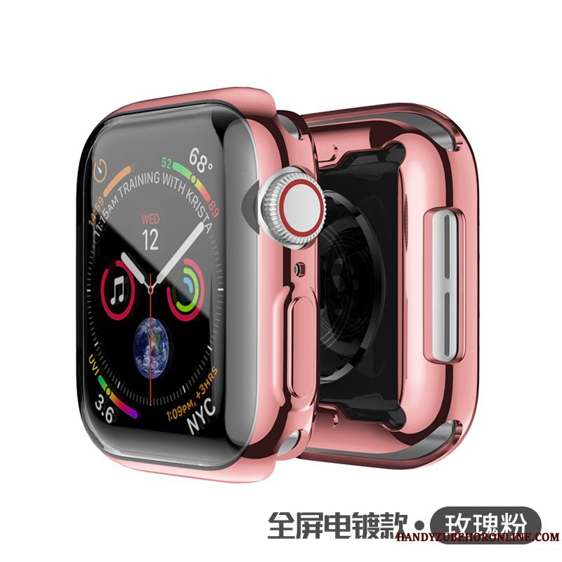 Apple Watch Series 2 Tout Compris Métal Protection Jours Coque Placage Transparent