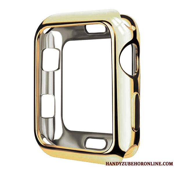 Apple Watch Series 2 Très Mince Protection Étui Placage Transparent Coque Fluide Doux
