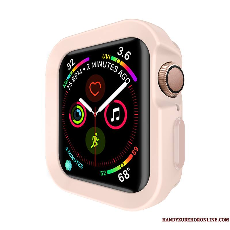 Apple Watch Series 4 Étui Protection Silicone Incassable Coque Sport Rose