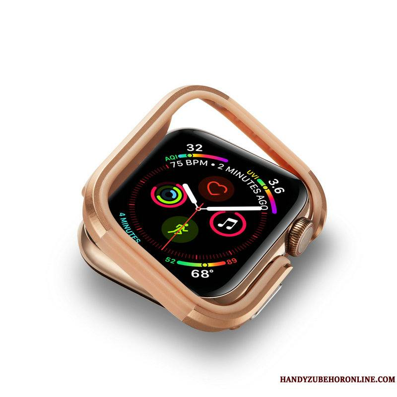 Apple Watch Series 4 Incassable Coque Protection Border Métal
