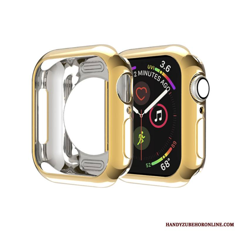 Apple Watch Series 4 Silicone Sac Border Étui Membrane Très Mince Coque