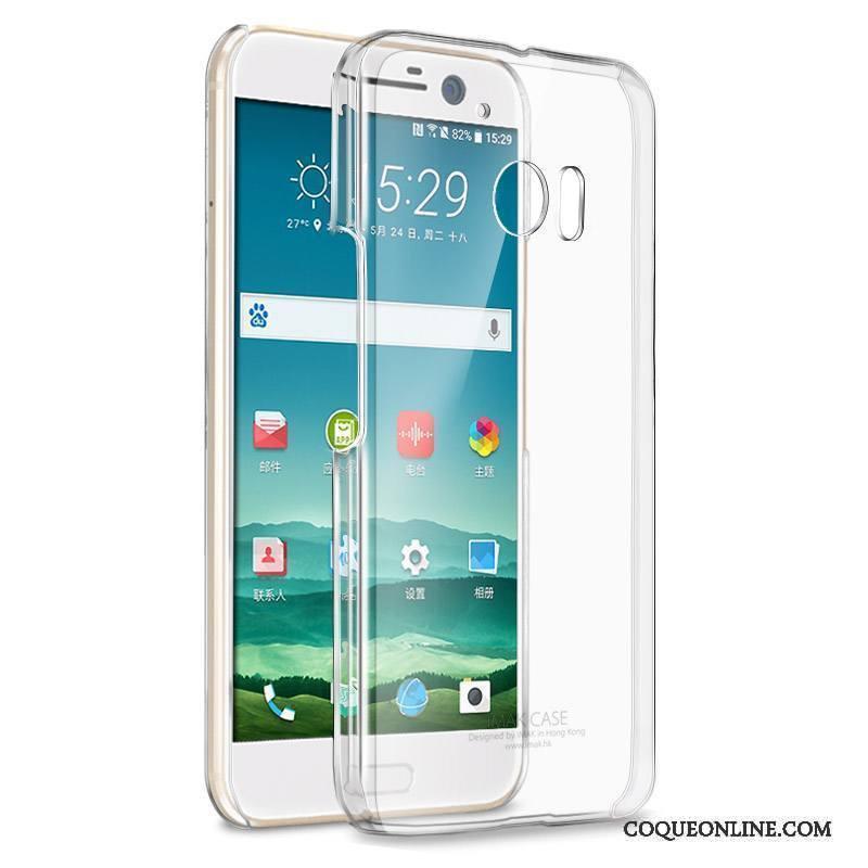 Htc 10 Protection Téléphone Portable Coque Difficile Étui De Téléphone Transparent