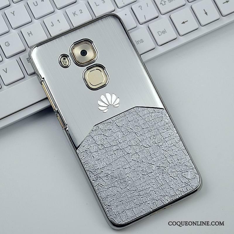 Huawei G9 Plus Coque De Téléphone Difficile Étui Incassable Métal Très Mince Argent