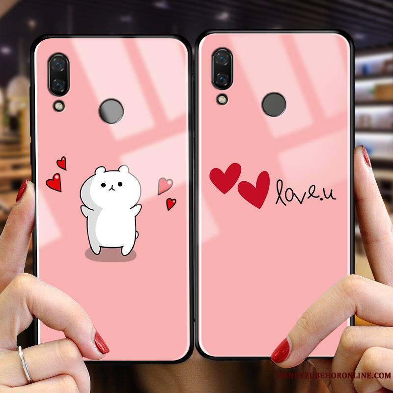Huawei P Smart 2019 Créatif Nouveau Coque De Téléphone Rose Protection Dessin Animé Tout Compris