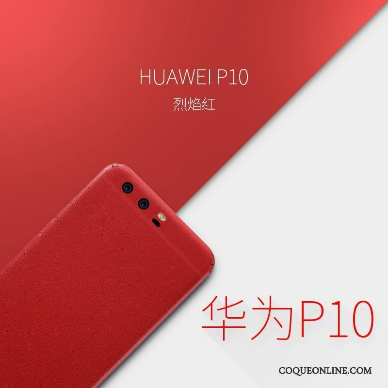 coque pour huawei p10 rouge