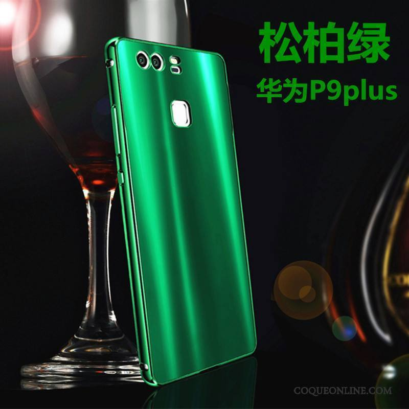 Huawei P9 Plus Vert Border Difficile Coque Jeunesse Étui Protection