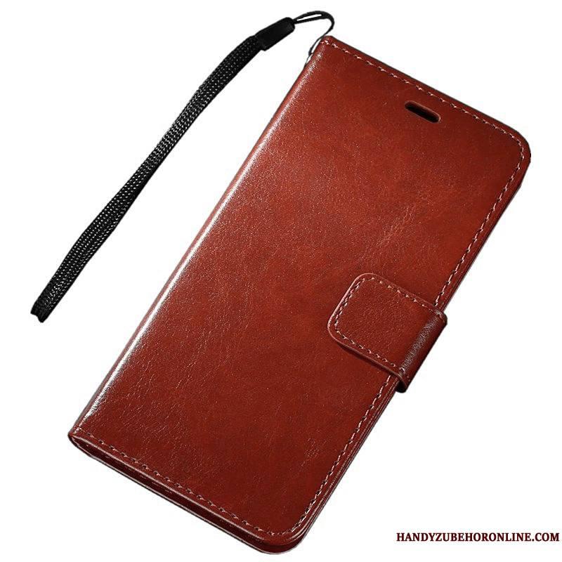 Huawei Y6 2019 Housse Portefeuille Coque De Téléphone Étui Étui En Cuir Téléphone Portable Protection