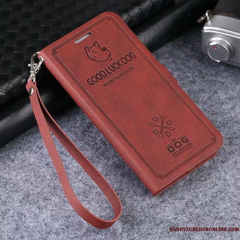 Mi 9 Se Coque Incassable Chat Fluide Doux Étui En Cuir Charmant Protection Business