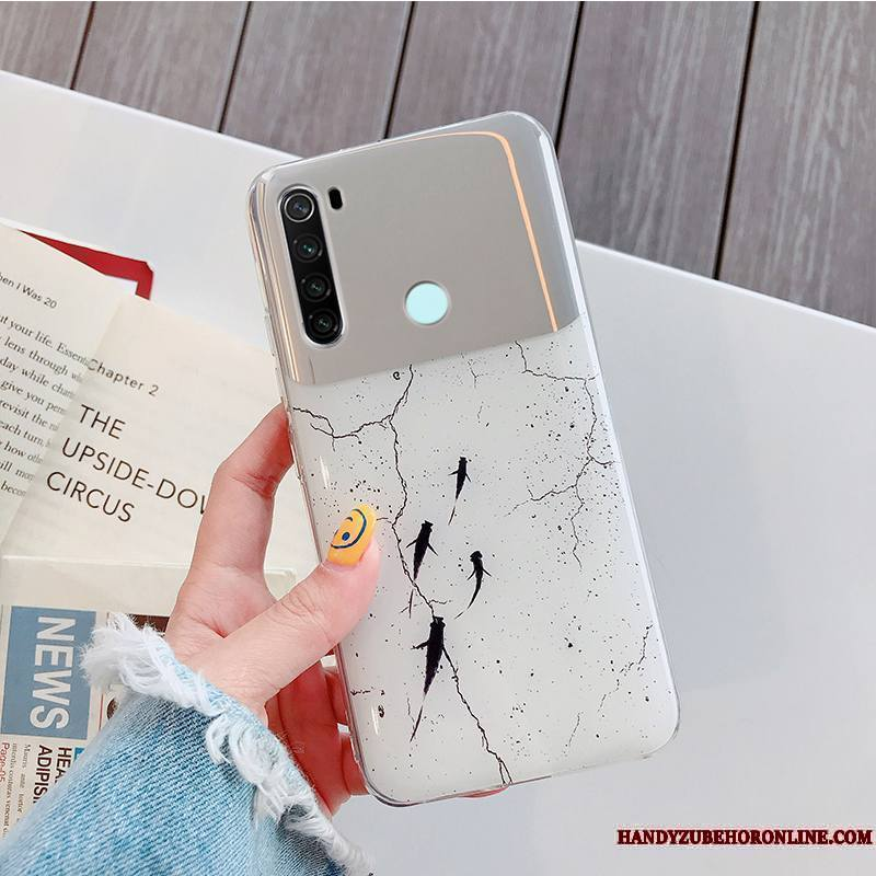 Redmi Note 8t Coque Charmant Fluide Doux Mode Étui Protection Membrane Bordure