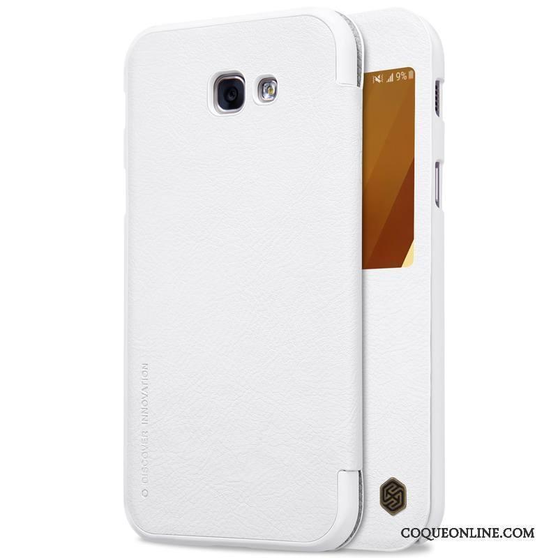 Samsung Galaxy A3 2017 Protection Housse Étoile Coque De Téléphone Or Blanc Incassable