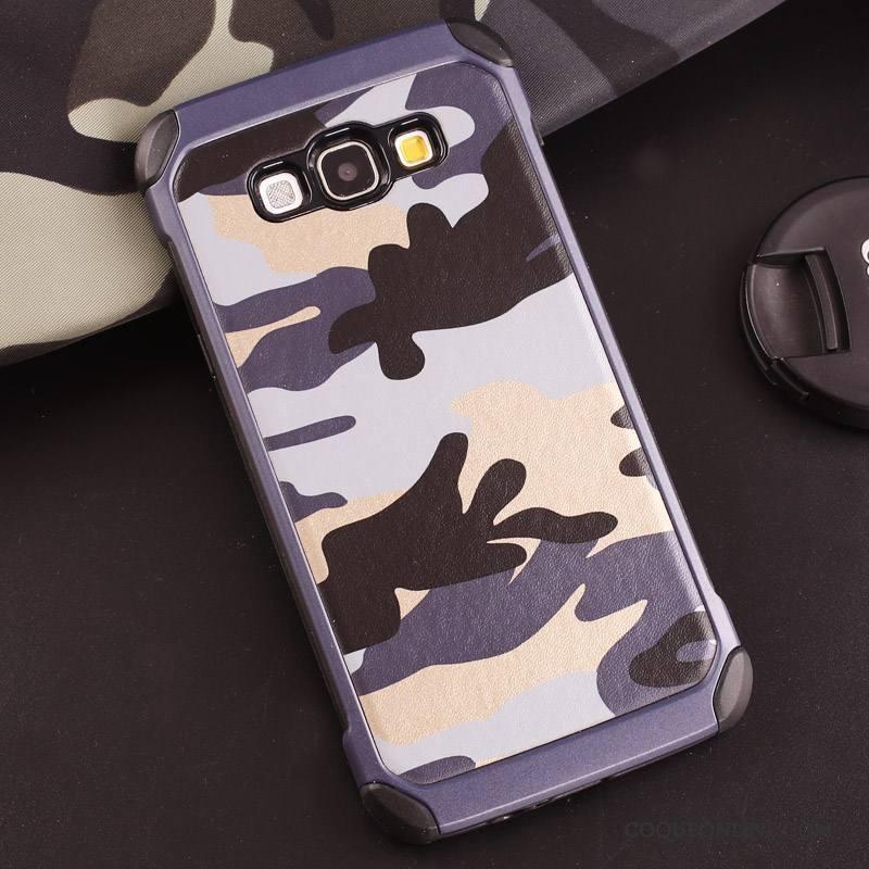 Samsung Galaxy J5 2016 Violet Étoile Coque De Téléphone Camouflage Vert Étui Protection