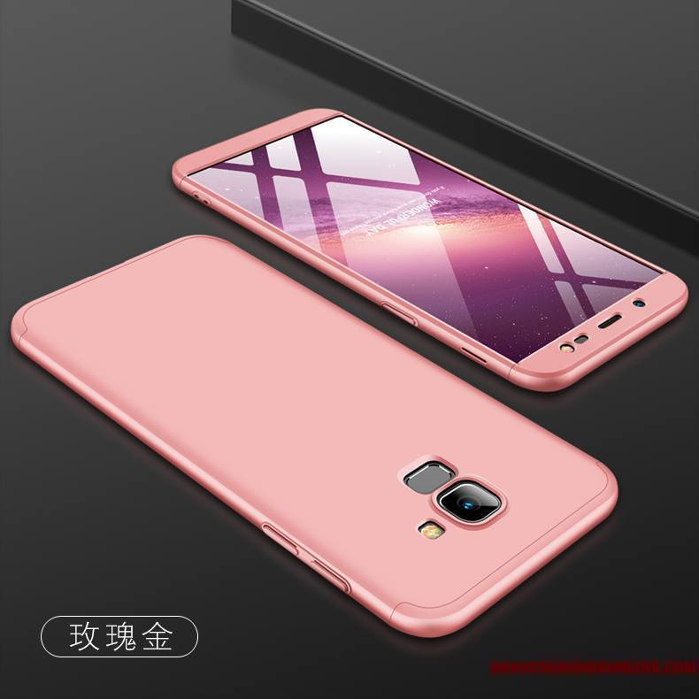 galaxy j6 coque rose