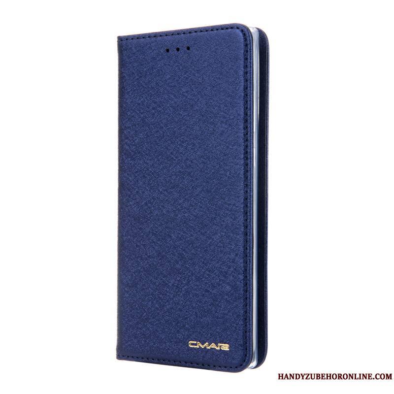 Samsung Galaxy Note 10+ Bleu Étoile Carte Étui En Cuir Housse Coque De Téléphone