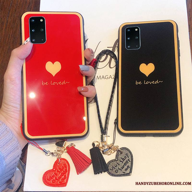 Samsung Galaxy S20+ Coque Or Protection Amour Incassable Verre Vent Tendance