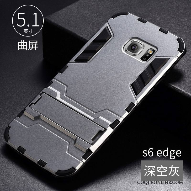coque samsung galaxy s6 edge gris