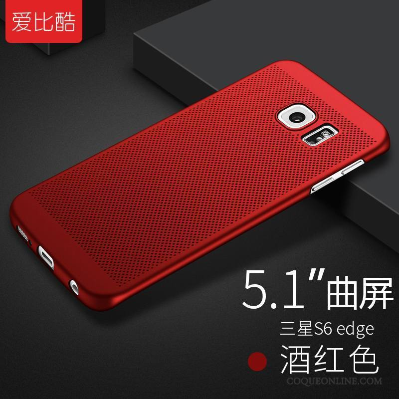 coque samsung galaxy s6 rouge