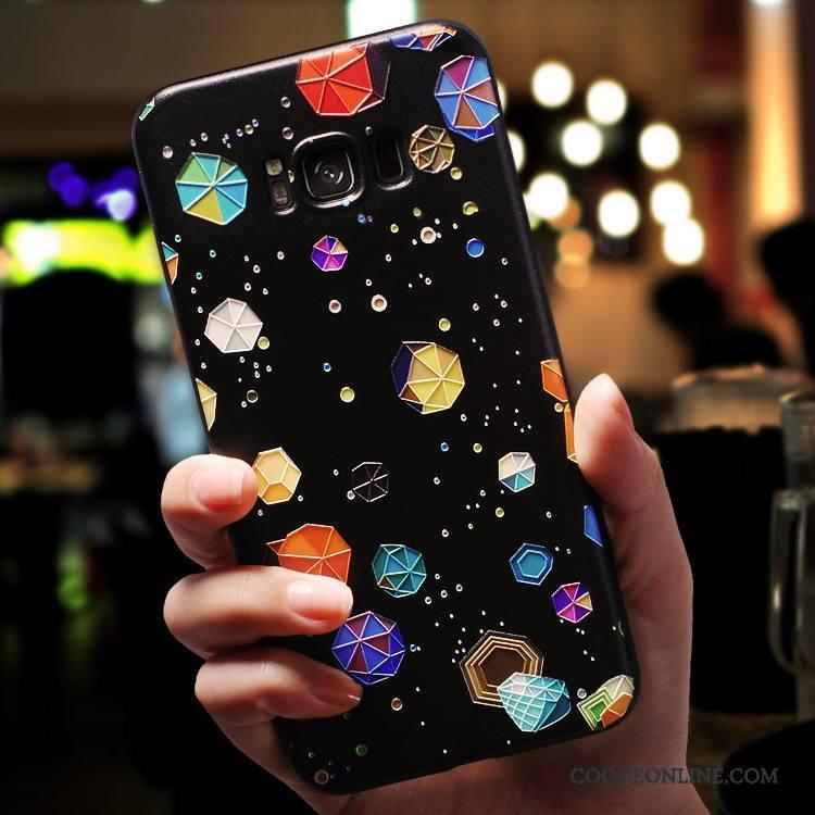 Samsung Galaxy S7 Edge Coque Personnalité Incassable Étoile Tout Compris Silicone Multicolore Créatif