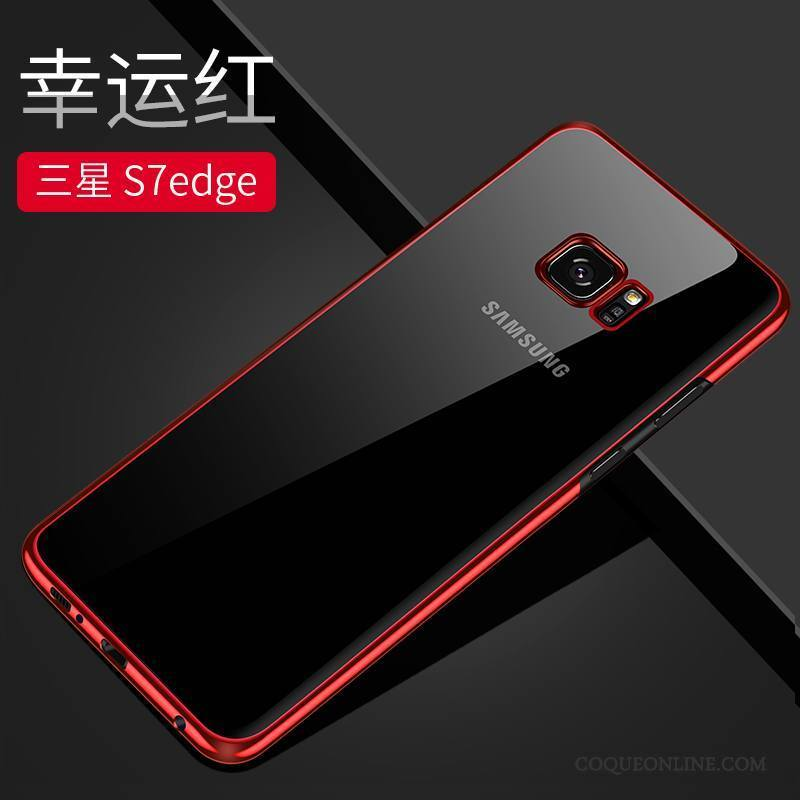 coque galaxy s7 edge rouge