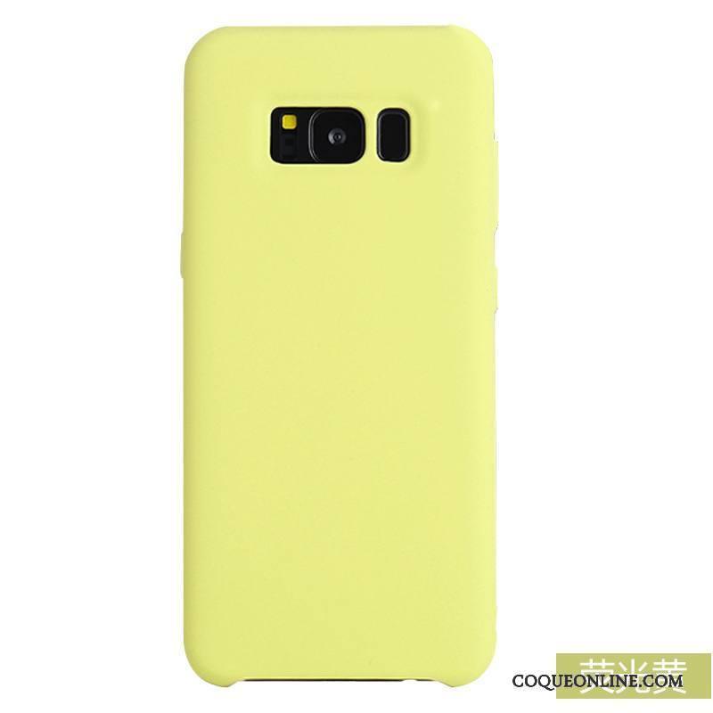 coque samsung galaxy s8 jaune