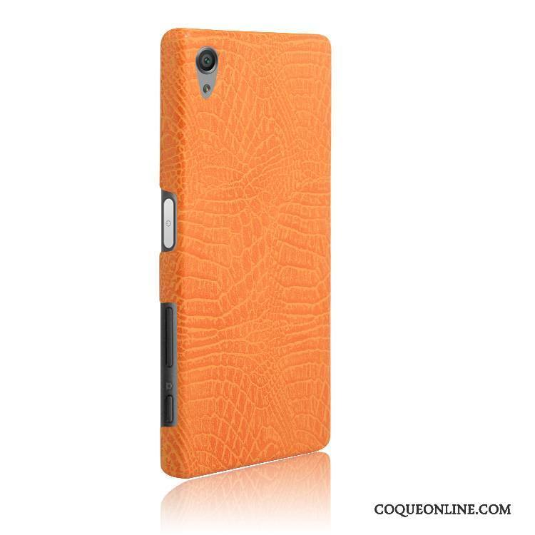 Sony Xperia X Étui Orange Coque De Téléphone Vintage Difficile Incassable Protection