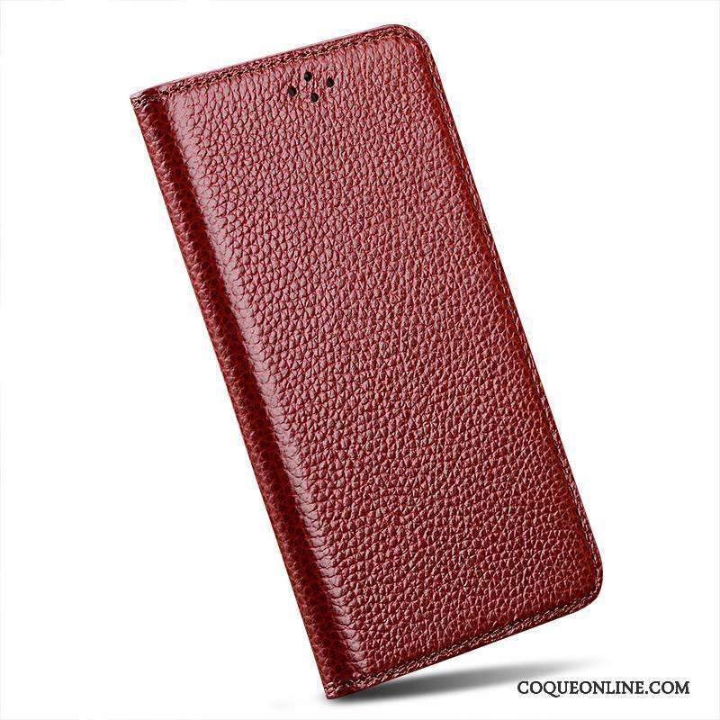Sony Xperia Z2 Coque Clamshell Simple Vin Rouge De Téléphone Incassable Protection