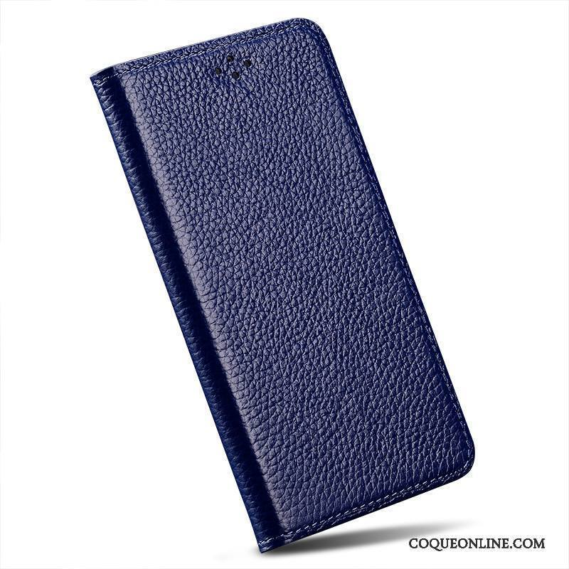 Sony Xperia Z3 Bleu Simple Incassable Clamshell Protection Étui Coque