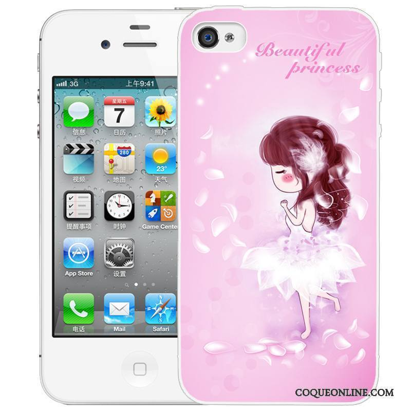 Iphone 4 4s Peinture Coque Gaufrage De Téléphone Étui Dessin Animé  Protection Soldes d3efe0b5400