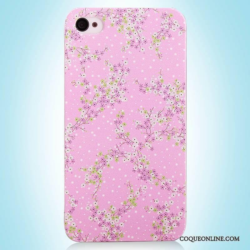 Iphone 4 4s Vintage Rose Simple Coque Étui Peinture De Téléphone Soldes df1fc930c0c