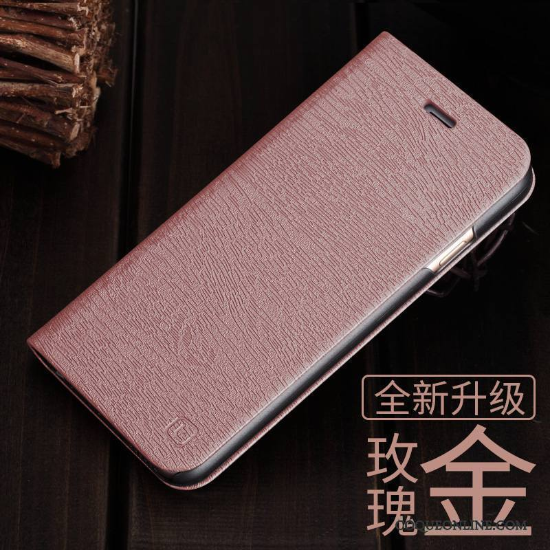 iPhone 6/6s Coque Étui Tout Compris Or Rose Clamshell Protection Incassable Tendance