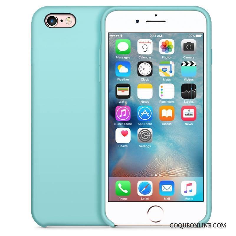 iPhone 6 6s Plus Incassable Silicone Étui Nouveau Bleu Coque Téléphone Portable 636