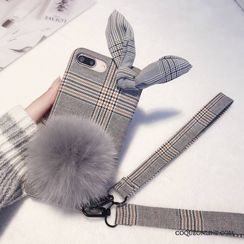 coque peluche iphone 7 plus