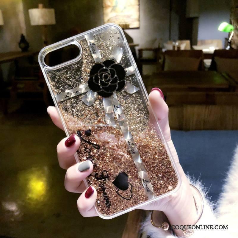iPhone 7 Plus Étui Quicksand Europe Coque De Téléphone Fluide Doux Ornements Suspendus Tendance
