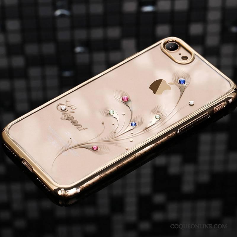 iPhone 7 Plus Coque Luxe Étui Nouveau Difficile Strass Incassable 1148