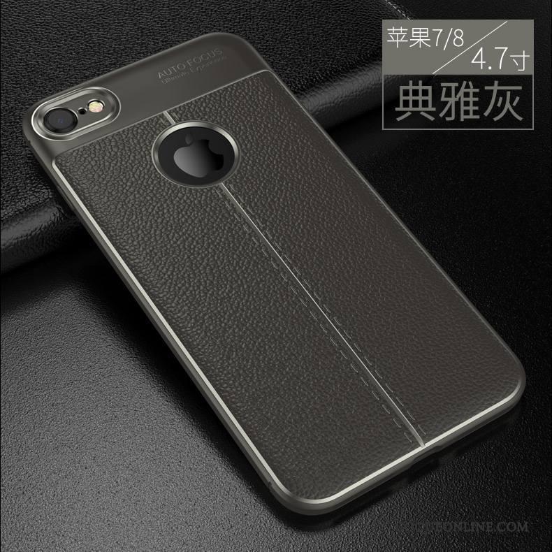 coque silicone grise iphone 8