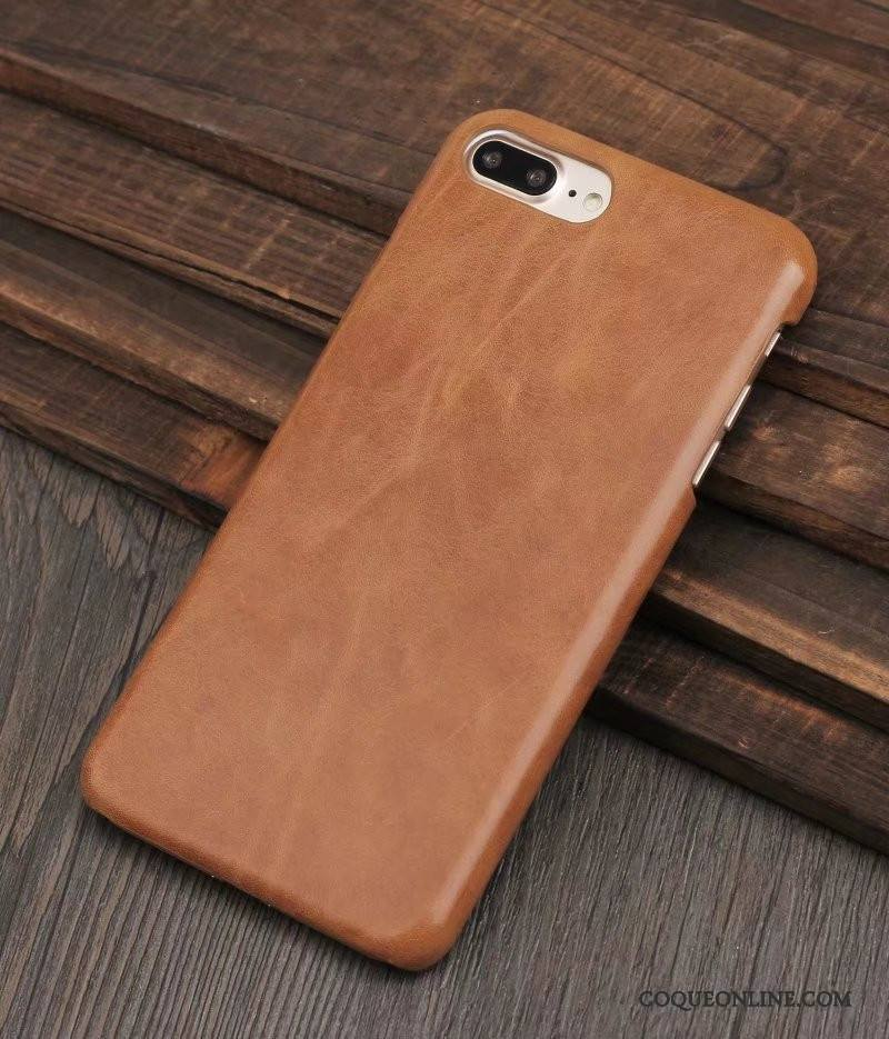 coque iphone 8 marron
