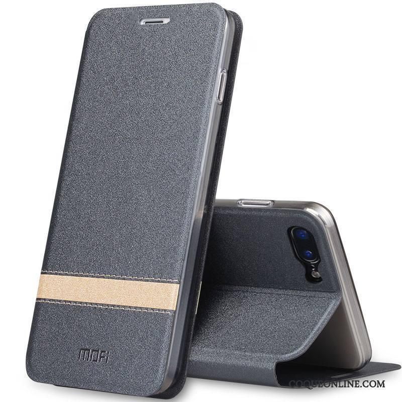 coque iphone 8 plus silicone gris
