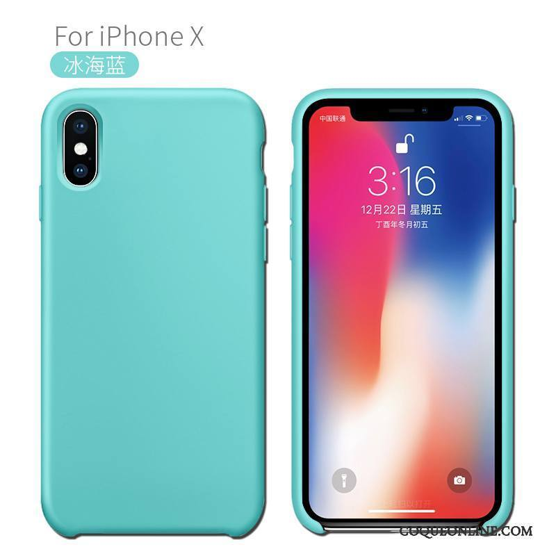 coque incassable iphone x